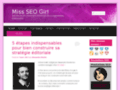 Le blog Miss SEO Girl