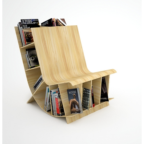 photo de la chaise biblioth�que Bookseat