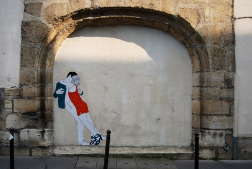 photo d'un mur by Claire Streetart