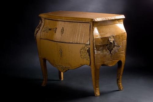 meubles en carton d 39 emilie mazeau langlais interview de la cr atrice. Black Bedroom Furniture Sets. Home Design Ideas