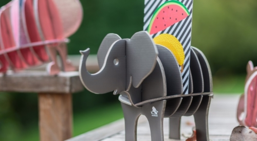 Photo de l'éléphant gris Cocorikraft