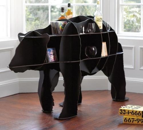 Tag re ours polaire - Les etageres funky d de quirky ...
