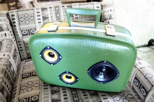valises enceinte BoomCase by Mr. Simo