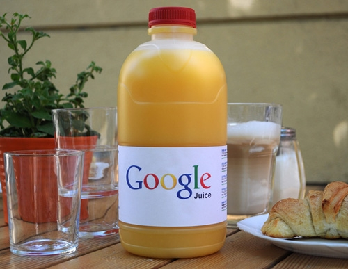 photo : bouteille de jus Google Juice