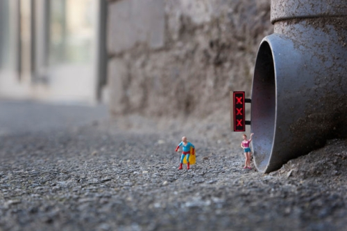 photo de Little people par Slinkachu