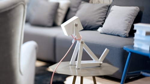 Lampe chien Luminose (photo)