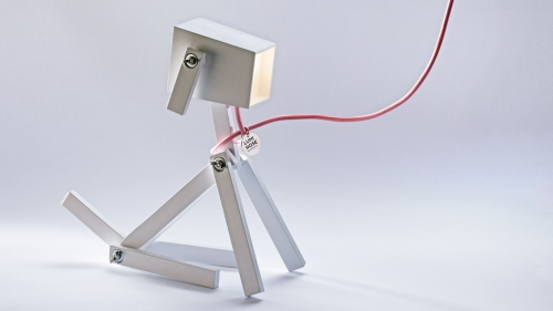 La Lampe chien design Luminose (photo)