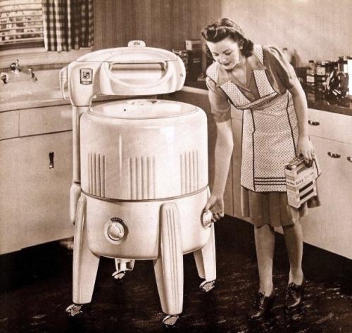 Machine laver des 40 39 s - Petite machine a laver studio ...