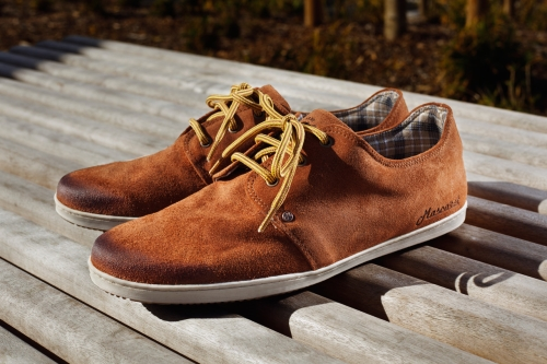 Photo de mes sneakers Mascaret Gaby Vintage RUST couleur tabac