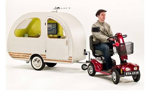 mini caravane qtvan. Black Bedroom Furniture Sets. Home Design Ideas