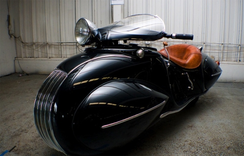 photo de la moto Henderson 1930 custom