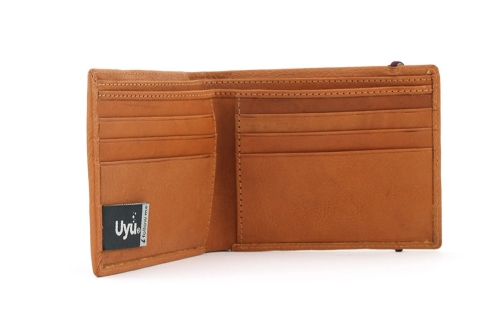 sélection premium f4c51 999dd Portefeuille en cuir végétal Uyu Design