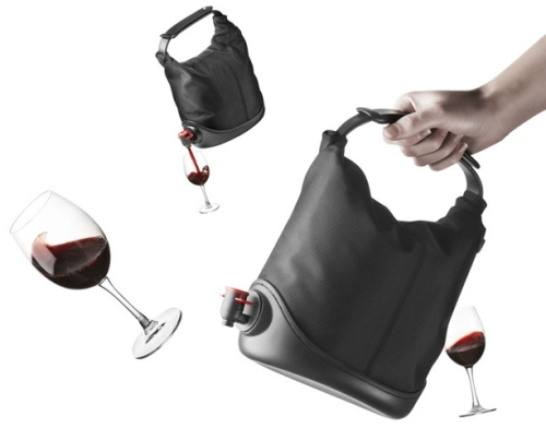 photo du sac � vin