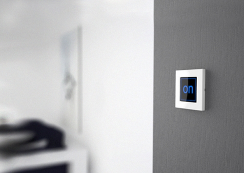 interrupteur switch on. Black Bedroom Furniture Sets. Home Design Ideas