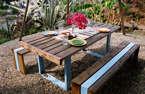 photo table de jardin SR Outdoor