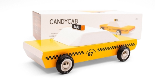 Taxi jaune CandyLab (photo)