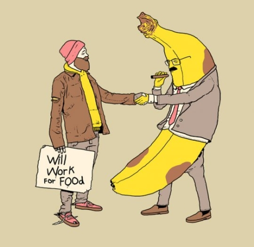blague banane