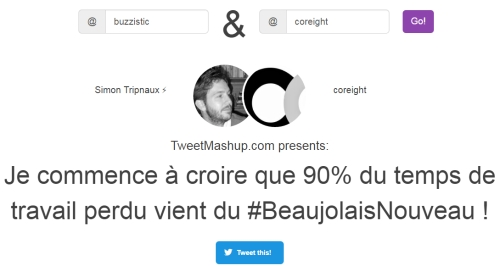 TweetMashup mixe vos tweets