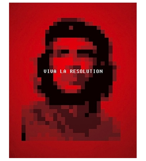 Le ché en pixels : Viva la Resolution