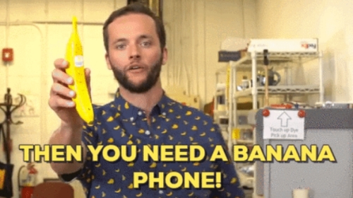 You need Banana Phone!